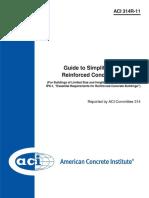 [Standar] ACI 314R-11 Guide to Simplified Design for Reinforced Concrete Buildings
