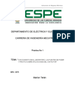 Informe 1 (Contactor y Fuentes)
