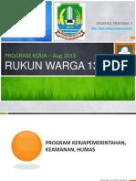 201309 Program Kerja Rw 1