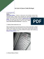 6 Ulama Ini Pakai Ayat Al-Quran Untuk Berbagai Kebutuhan