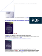 Construction Claim Books & Link