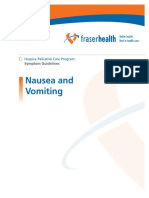 14 f h Symptom Guidelines Nausea