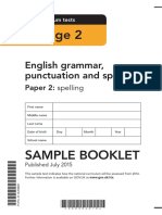 Sample Ks2 EnglishGPS Paper2 Spelling