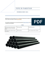 MS Pipe in Pakistan