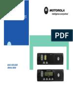 Motorola CM140 CM160 Manual