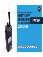 Motorola DP4800 DP4801 Manual