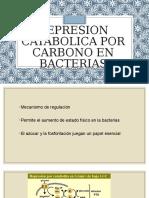 Represion Catabolica Por Carbono en Bacterias