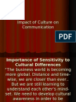 Impact of Culture on Communication