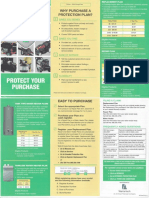 Menards Extended Protection Plan Brochure