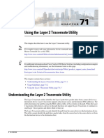 Using the Layer 2 Traceroute Utility