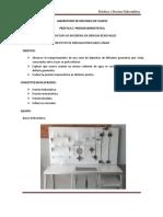 Guía de practica, Presión Hidrostática