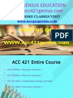 ACC 421 GENIUS TEACHING EFFECTIVELY / acc421genius.com