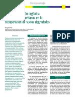 REGENERACIÓN DE SUELOS
