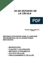 metodos de estudio de la celula