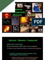 Presentation on Elements-mixtures-compounds Notes -1