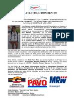 MARÍA ROMERO MORENO SE PROCLAMA CAMPEONA DE EXTREMADURA EN LA PRUEBA DE LOS 400M.L