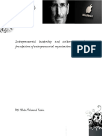 Entrepreneurial  leadership  and  culture- Steve Job  by Alladin Yaseen