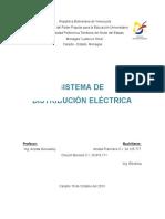 Sistema de Distribucion Electrica. Trabajo