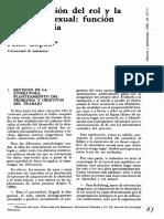 La Adquisición Del Rol Y La Identidad Sexual - Felix López