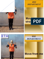 Crane Operation Signal Posters