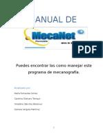 Manual MECANET