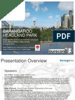 2013-08 Barangaroo Headland Park Ea Presentation Rev00