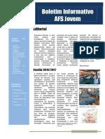 Boletim Informativo Afs Jovem Maio 2016