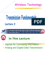 Lecture Notes on Transmission Fundamentals