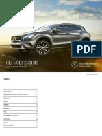 Listino Classe GLA X156