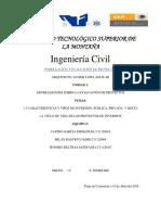 Formulación y Evaluación de Proyectos1.3 y 1.4