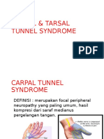 Carpal & Tarsal Tunnel Syndrome