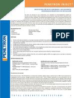 Penetron-Inject Cl Grietas