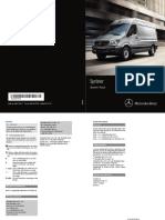 2016 Sprinter Owners Manual