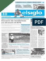 Edición Impresa El Siglo 30-05-2016