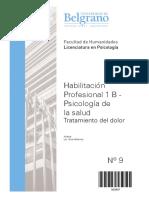 Dolor- Habilitacion Profesional 1 B - Laham