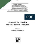 01#Manual de Direito Processual do Trabalho 2016 - Mauro Schiavi.pdf