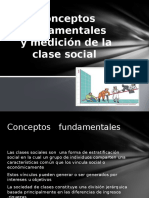 Conceptos Fundamentales y Mediciones de Las Clases Sociales[1]