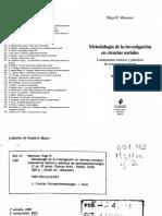 Mancuso Hugo R Una Cuestión de Estilo Metodologia de La Investigacion en Ciencias Sociales p159 255
