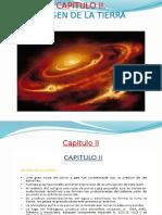 CAP. II.- Orige de La Tierra (1)