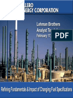 Refinery General Info