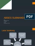 ppt abses submandibula