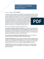 peet- overview - the integrative knowledge portfolio process 10-14-11