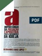 A Importância Da Pregação Expositiva No Crescimento Da Igreja - Hernandes Dias Lopes