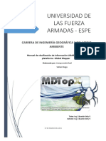 Manual MDTopX