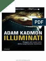 Adam Kadmon Illuminati Viaggio Nel Cuore Nero Della Cospirazione Mondiale