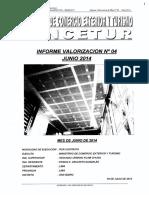 Informe 4ta Valorizacion Primera Parte ObraCapilla MINCETUR PRODUCE