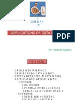 Applications of Data Mining
