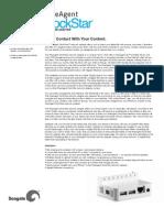 Seagate FreeAgent DockStar Data Sheet