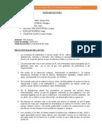 Ficha Historia de Las Cosas