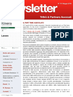 Newsletter T&P N°101